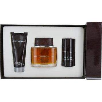 Kenneth Cole Signature 3 Piece Gift Set for Men (Eau de Toilette Spray Plus After Shave Balm Plus Deodorant Stick)