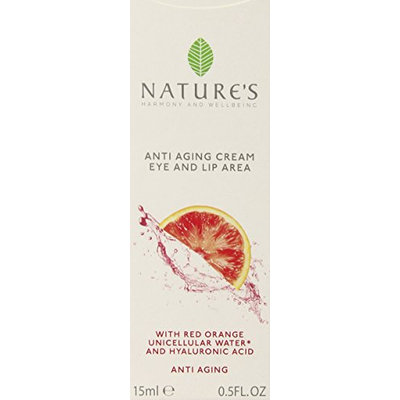 Nature's Anti-Aging Cream for Eyes and Lips