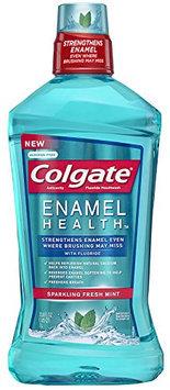 Colgate Enamel Health Anticavity Fluoride Sparkling Fresh Mint Mouthwash