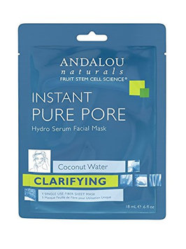 Andalou Naturals Instant Pure Pore Hydro Serum Facial Mask