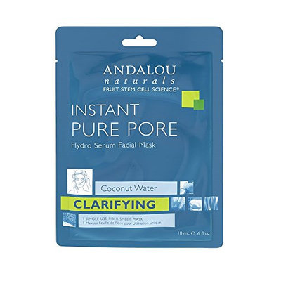 Andalou Naturals Instant Pure Pore Hydro Serum Facial Mask