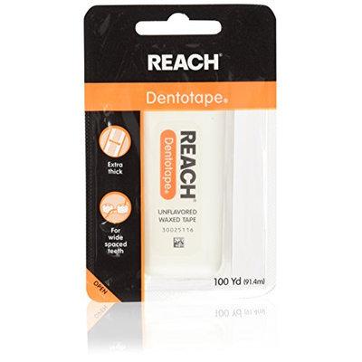 Reach DentoTAPE Waxed Ribbon Dental Floss