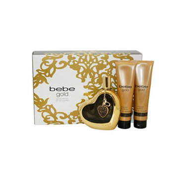 Bebe Gold 4 Piece Gift Set for Women