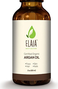 ELAIA BEAUTY SOLUTIONS Ecocert and USDA Organic Moroccan Argon Oil