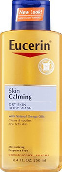 Eucerin Skin Calming Dry Skin Body Wash with Natural Omega Oils Fragrance Free