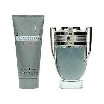 Paco Rabanne Invictus Eau de Toilette Spray Plus All Over Shampoo Special Travel Edition Gift Set