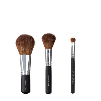 ON&OFF Trio Flawless Face/Tapered Cheek and Wet/Dry Shadow Brush