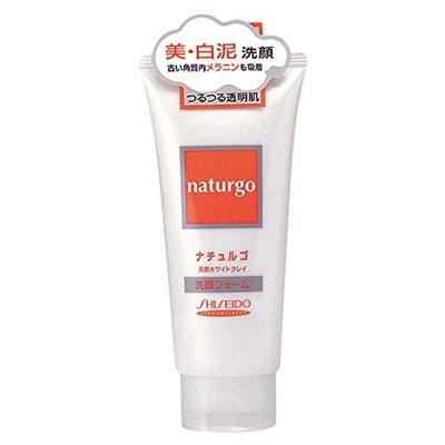 SHISEIDO Naturgo White Clay Facial Cleansing Foam