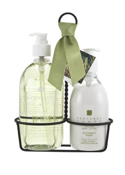 Provence Sante PS Kitchen Caddy -Liquid Soap & Lotion Vetiver