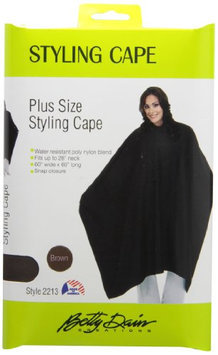 A Size Above Styling Cape with Snap Closure