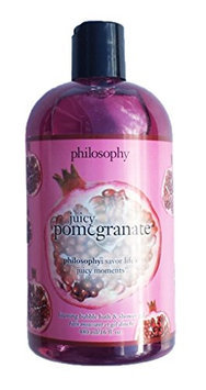 Philosophy JUICY POMEGRANATE Foaming Bubble Bath & Shower Gel 16 fl oz