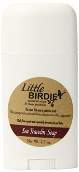 Little Birdie Sea Travel Soap in Dial Up Container