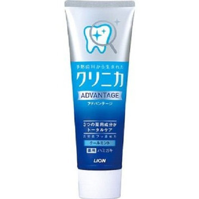 Lion Clinical Advantage Hamigaki Cool Mint Vertical