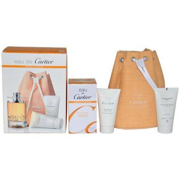 Cartier Eau De Cartier Essence D'orange Men Kit
