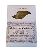 Coconut Lime Soap - Exfoliating - Poppy Seed