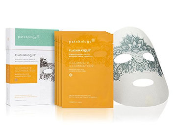 Patchology Flashmasque Touch of Lace Illuminate 5 Minute Facial Sheets