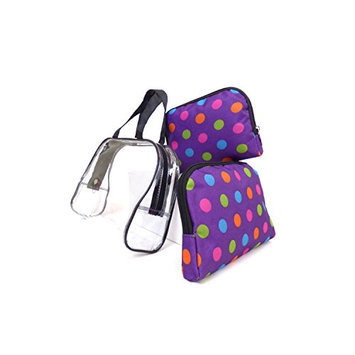 Argo Sport Candy Dots Cosmetic Bags