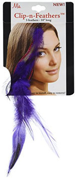 Mia Clip-n-Feathers Hair Feather
