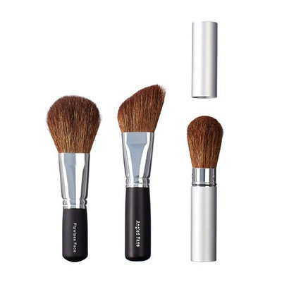 VEGAN LOVE Flawless Face Angled Face Take Along Face Brush Trio