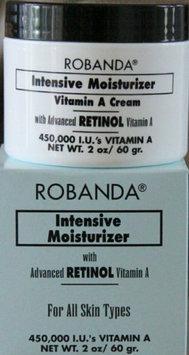 Robanda Intensive Moisturizer Cream with Advanced Retinol Vitamin A For All Skin Types 1.7 oz
