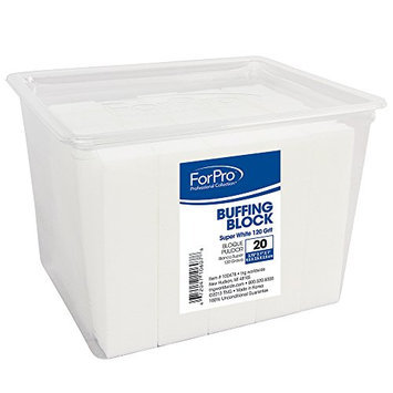For Pro Super White Buffing Block 120 Grit