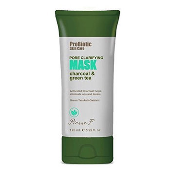 Pierre F Probiotic Pore Clarifying Mask Charcoal and Green Tea