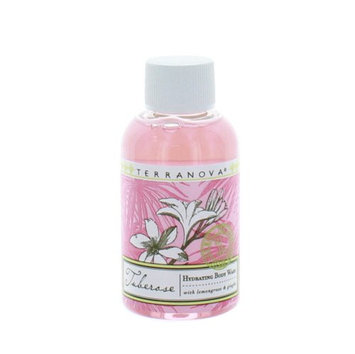 Terranova Tuberose Hydrating Travel Body Wash