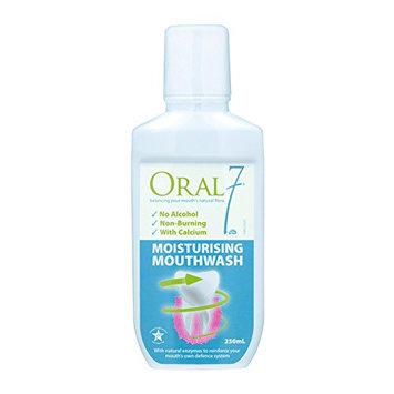 Oral 7 Moisturizing Mouthwash 8.45oz or 250ml