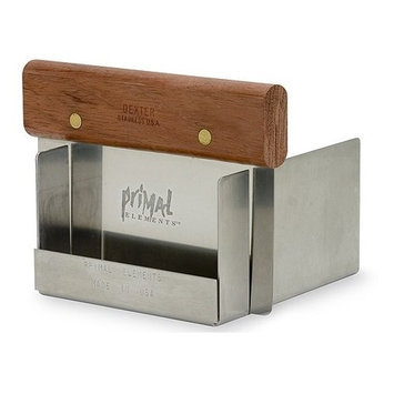 Primal Elements Wood Handle Soap Cutter with Metal Jig