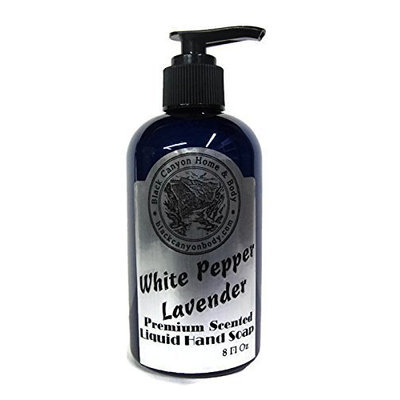Black Canyon Home and Body Black Canyon White Pepper Lavender Liquid Hand Soap