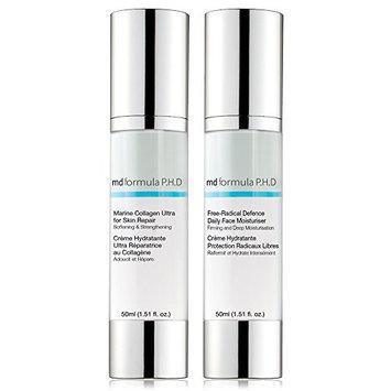 Skin Pharmacy Marine Collagen Ultra for Skin Repair and Free Radical Defence Daily Moisturiser