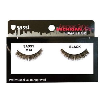 Sassi 804-M13 Michigan Ave 100% Human Hair Sassy Eyelashes