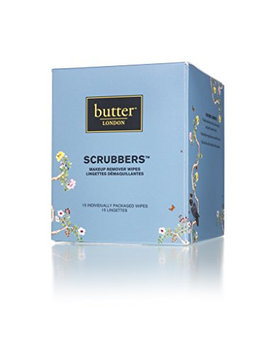butter LONDON Scrubbers Makeup Remover Wipes