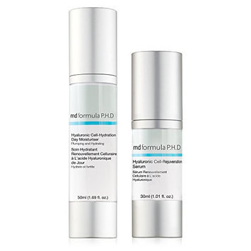 MD Formula P.H.D Hyaluronic Cell-Rejuvenation Serum with Cell-Hydration Day Moisturizer