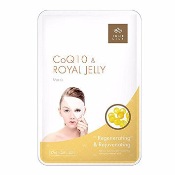 JUNE LILY CoQ10 and Royal Jelly Beauty Moisturizing Facial Mask