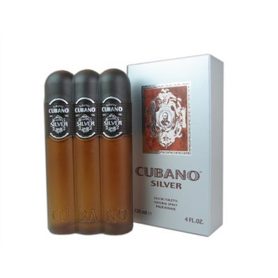 Cubano Silver By Cubano For Men. Eau De Toilette Spray 4.0 Oz
