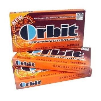 Orbit Sugarfree Gum Sangria Fresca Pack