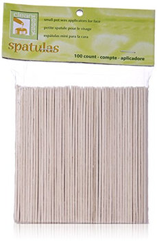 Clean Plus Easy Face Wood Applicator Spatula