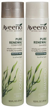 Aveeno® Active Naturals Pure Renewal Shampoo and Conditioner Set