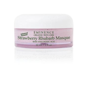 Eminence Organic Skincare Strawberry Rhubarb Masque with Vegan Friendly Hyaluronic Acid