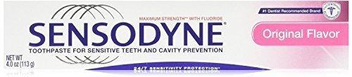 Sensodyne Maximum Strength Sensitive Teeth and Cavity Prevention Toothpaste