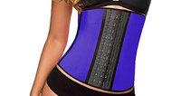 HomeTek USA Slimming Body Shaper Waist Trainer Workout Cincher