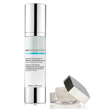 MD Formula P.H.D Caviar Lux Lift and Revive Overnight Eye Treatment with Nourish and Restore Night Moisturizer