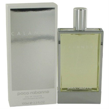 Calandre By Paco Rabanne For Women. Eau De Toilette Spray 3.4 Oz.