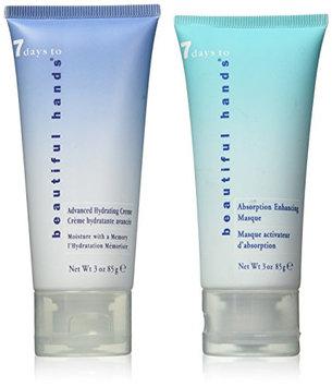 Nail Tek Salon Service Set Advanced Hydrating Creme and Absorption Enhancing Masque