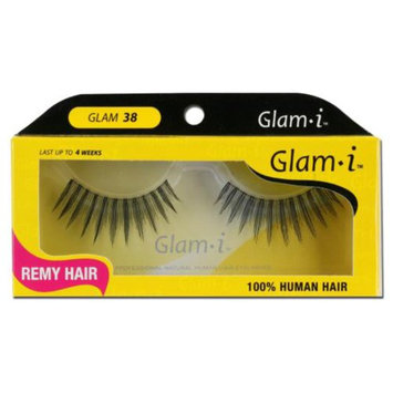 Glam-I 38 Full Strip Human Hair Eyelashes