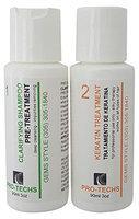 PRO-TECHS ORGANIC BRAZILIAN KERATIN SOFT For All type of hair + Clarifying Shampoo 3 oz