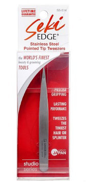 Seki Edge Stainless Steel Pointed Tip Tweezers