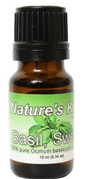 Nature's Kiss 100% Pure Sweet Basil Essential Oil