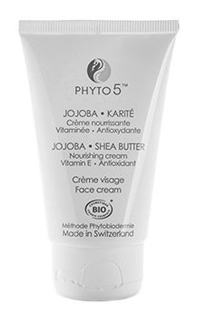 Jojoba Shea Butter Facial Moisturizer and Cream by Phyto 5 - Natural
